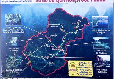 Quế Phong – Cảnh quang nên thơ với thác 7 tầng, thác Sao Va và làng Thái Cổ