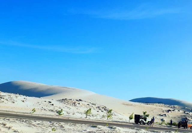 """Khám phá Bàu Trắng – nơi được mệnh danh là """"sa mạc Sahara ở Việt Nam"""""""